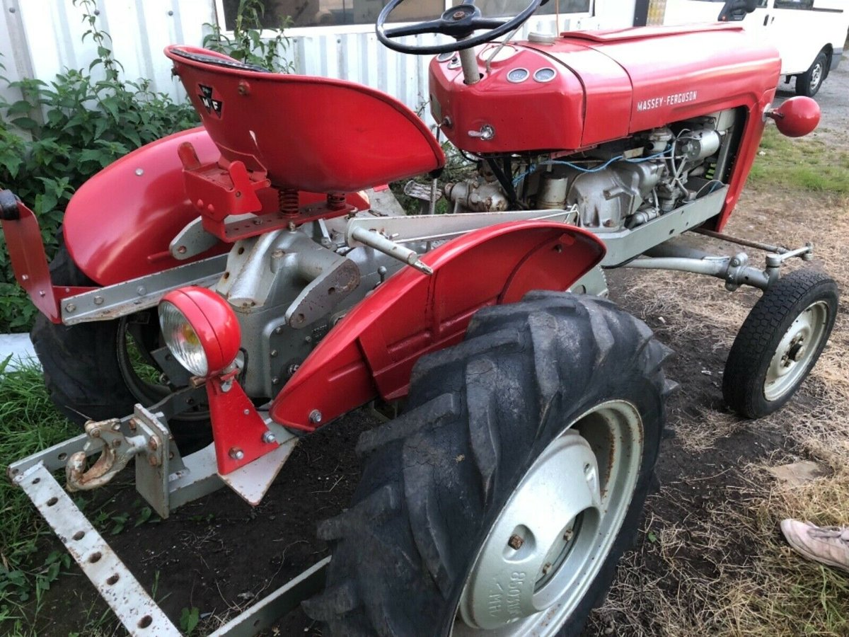 1958 821 rare tractor -can deliver  For Sale (picture 6 of 6)