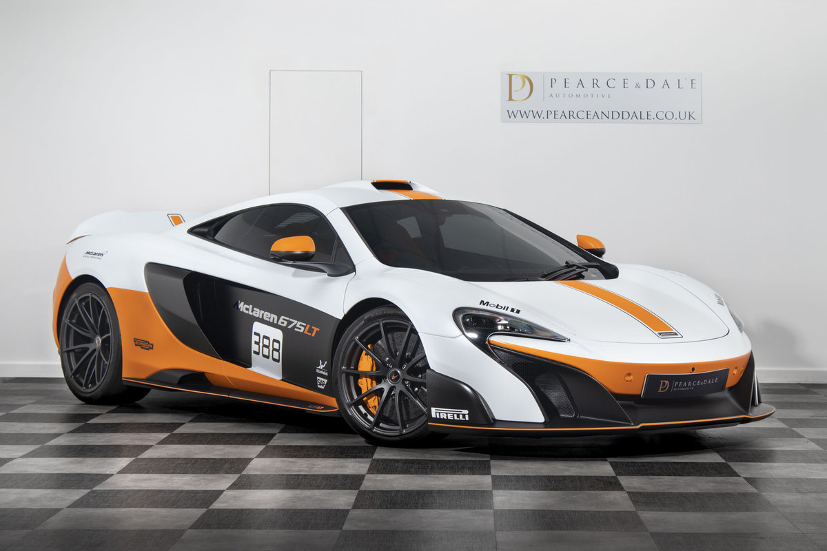 2016 / 16 McLaren 675 LT MSO COUPE For Sale (picture 1 of 6)