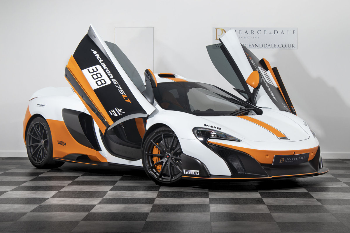 2016 / 16 McLaren 675 LT MSO COUPE For Sale (picture 2 of 6)