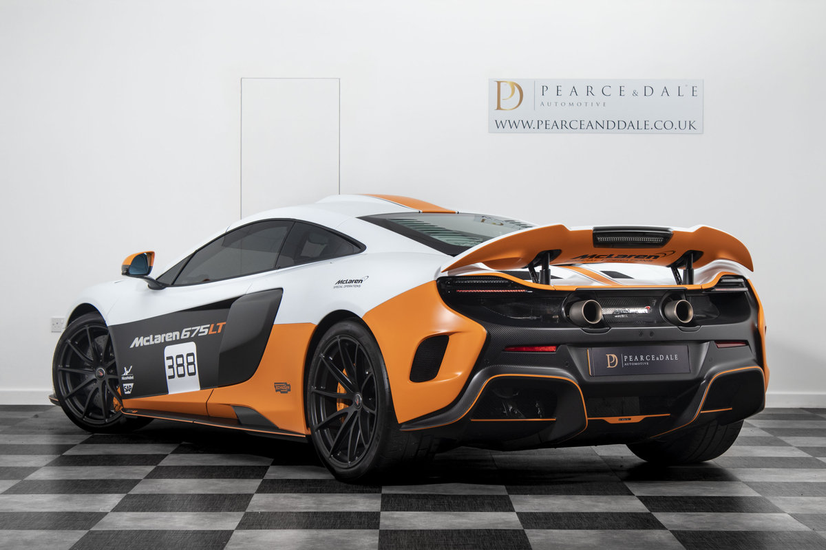 2016 / 16 McLaren 675 LT MSO COUPE For Sale (picture 3 of 6)