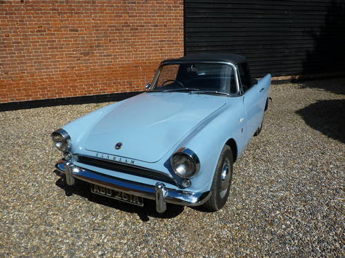 1963 Alpine Sunbeam For Sale (picture 1 of 6)