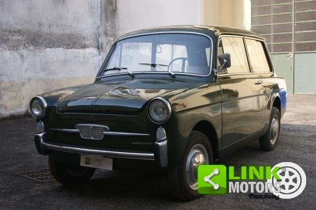 AUTOBIANCHI BIANCHINA PANORAMICA DEL 1970 ISCRITTA ASI POSS For Sale (picture 1 of 6)