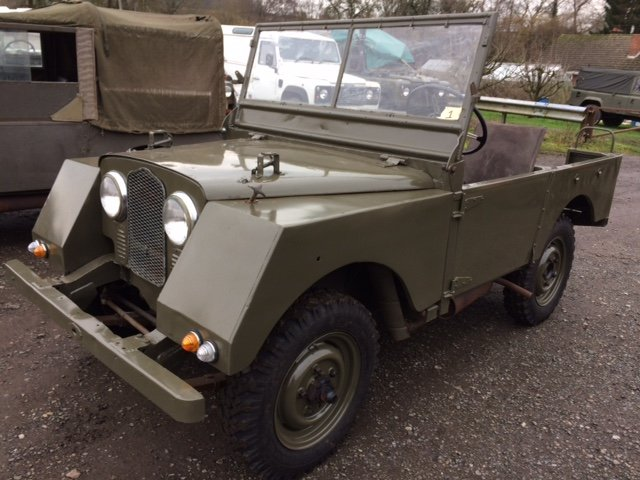 4950 Part Restored Running Minerva Jeep For Sale (picture 1 of 6)