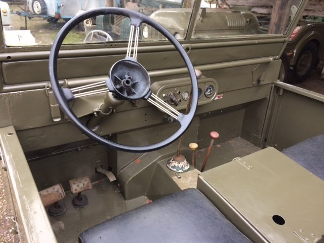 4950 Part Restored Running Minerva Jeep For Sale (picture 3 of 6)