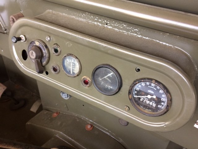 4950 Part Restored Running Minerva Jeep For Sale (picture 4 of 6)