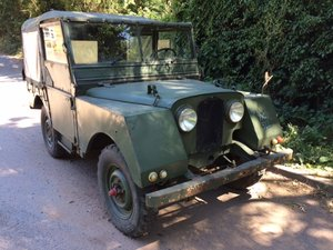 1953 minerva Jeep - Original 2 Litre - Runs Well