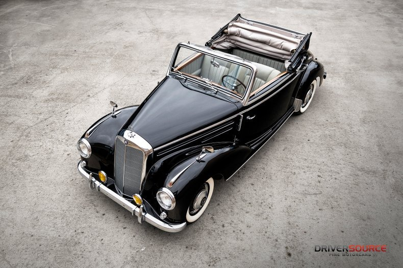 1953 Mercedes 220 Cabriolet A = Rare 1 of 1,278 made $172.5k For Sale (picture 1 of 6)