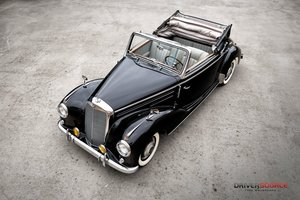 1953 Mercedes 220 Cabriolet A = Rare 1 of 1,278 made $172.5k For Sale