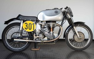 1953 original racing motorcycle, bevel 4-stroke OHC For Sale
