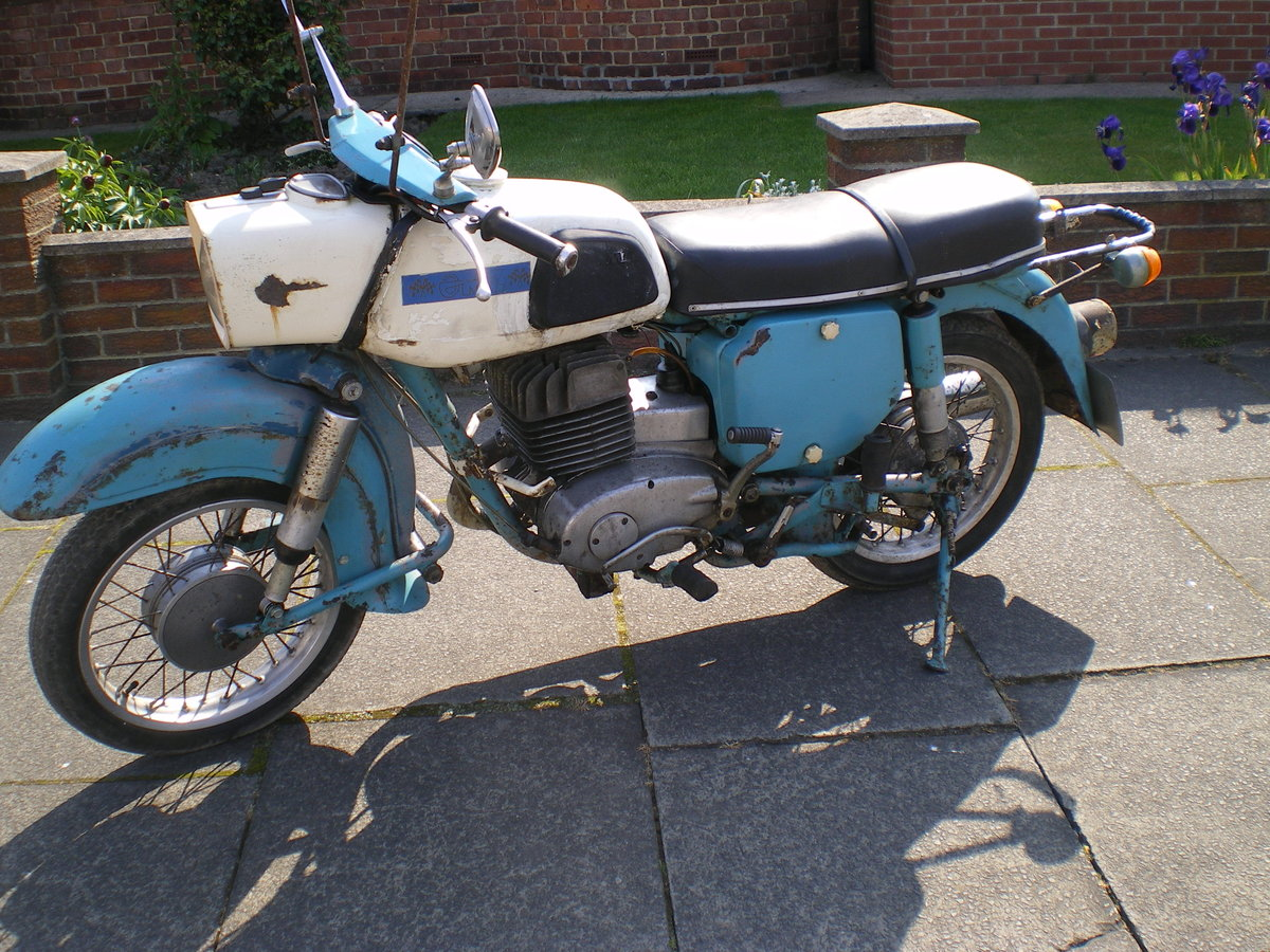 1974 MZ 250cc Trophy, Very Original collectible  Machine!! For Sale (picture 5 of 6)