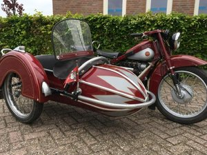 NIMBUS 1938 WITH BENDER SIDECAR