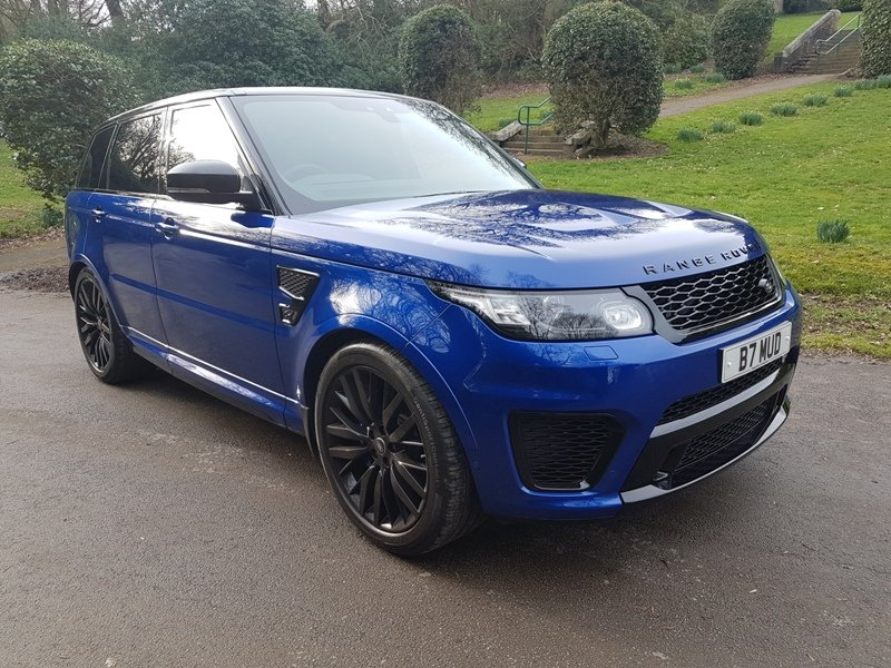 2017 RANGE ROVER SPORT SVR 5LT SUPERCHARGED For Sale (picture 1 of 6)