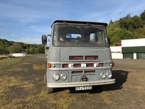 1968 ERF LV 4x2 Flat Bed Lorry at Morris Leslie Auction 25th May SOLD by Auction