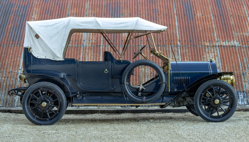 1909 VINTAGE BENZ 24/45 SIX-SEAT SPORTING TOURER For Sale (picture 3 of 6)