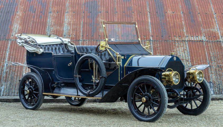 1909 VINTAGE BENZ 24/45 SIX-SEAT SPORTING TOURER For Sale (picture 4 of 6)