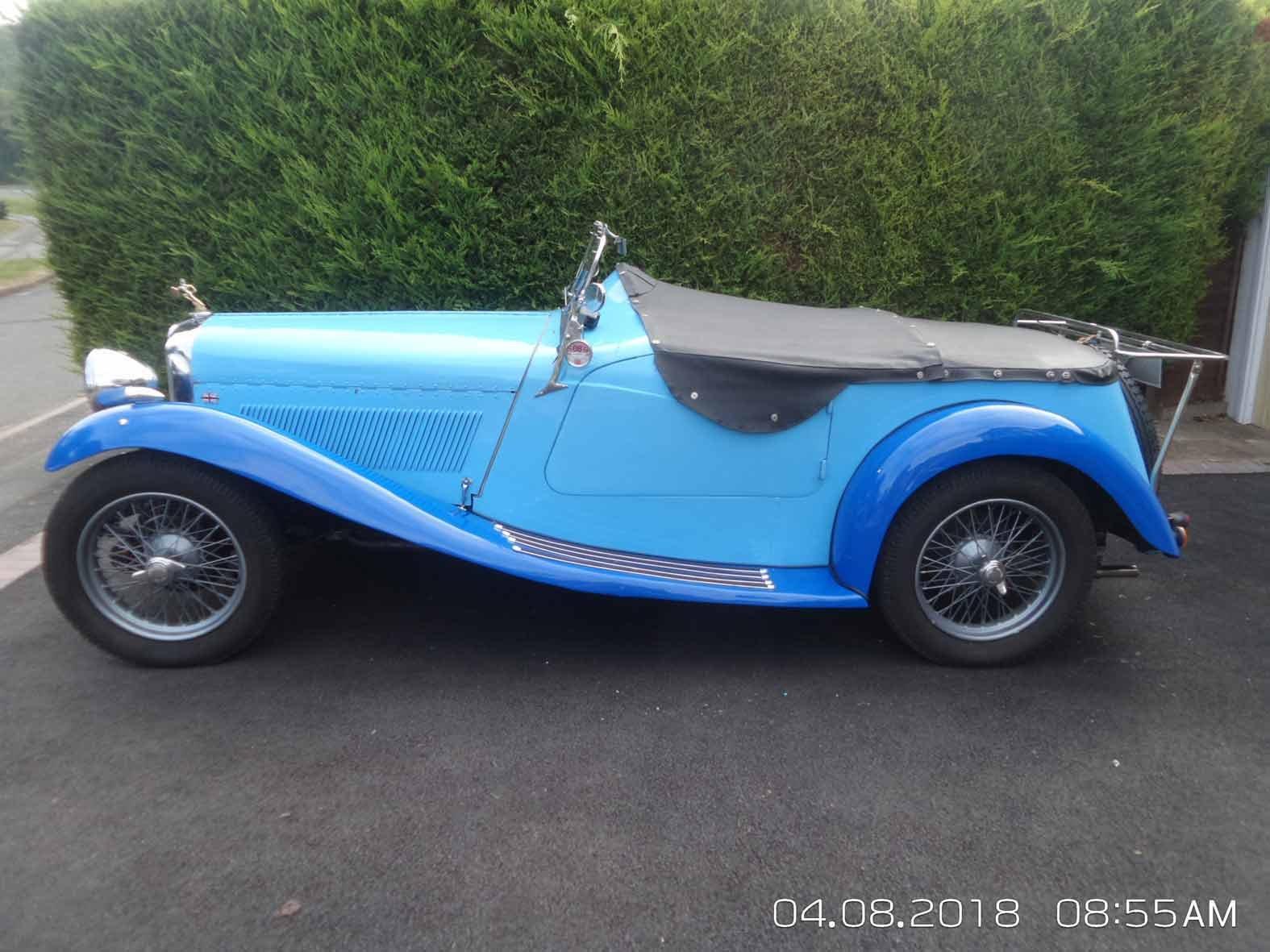 1934 SALMSON - British Salmson S4C  sports coupé. For Sale (picture 2 of 6)