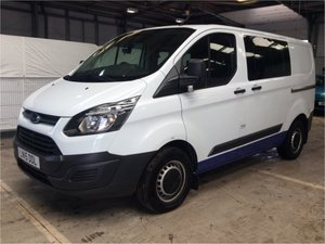 2015 Ford Transit Custom 2.2TDCi ( 100PS ) 6 SEATER KOMBI For Sale