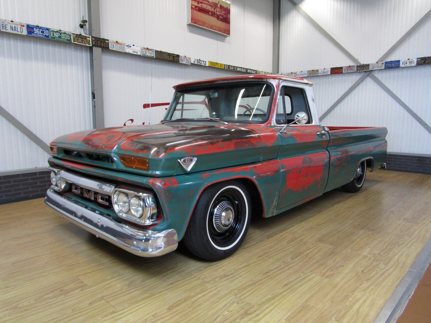 1966 GMC V8 Custom C10 Pick Up Restomod / Ratlook For Sale (picture 1 of 6)