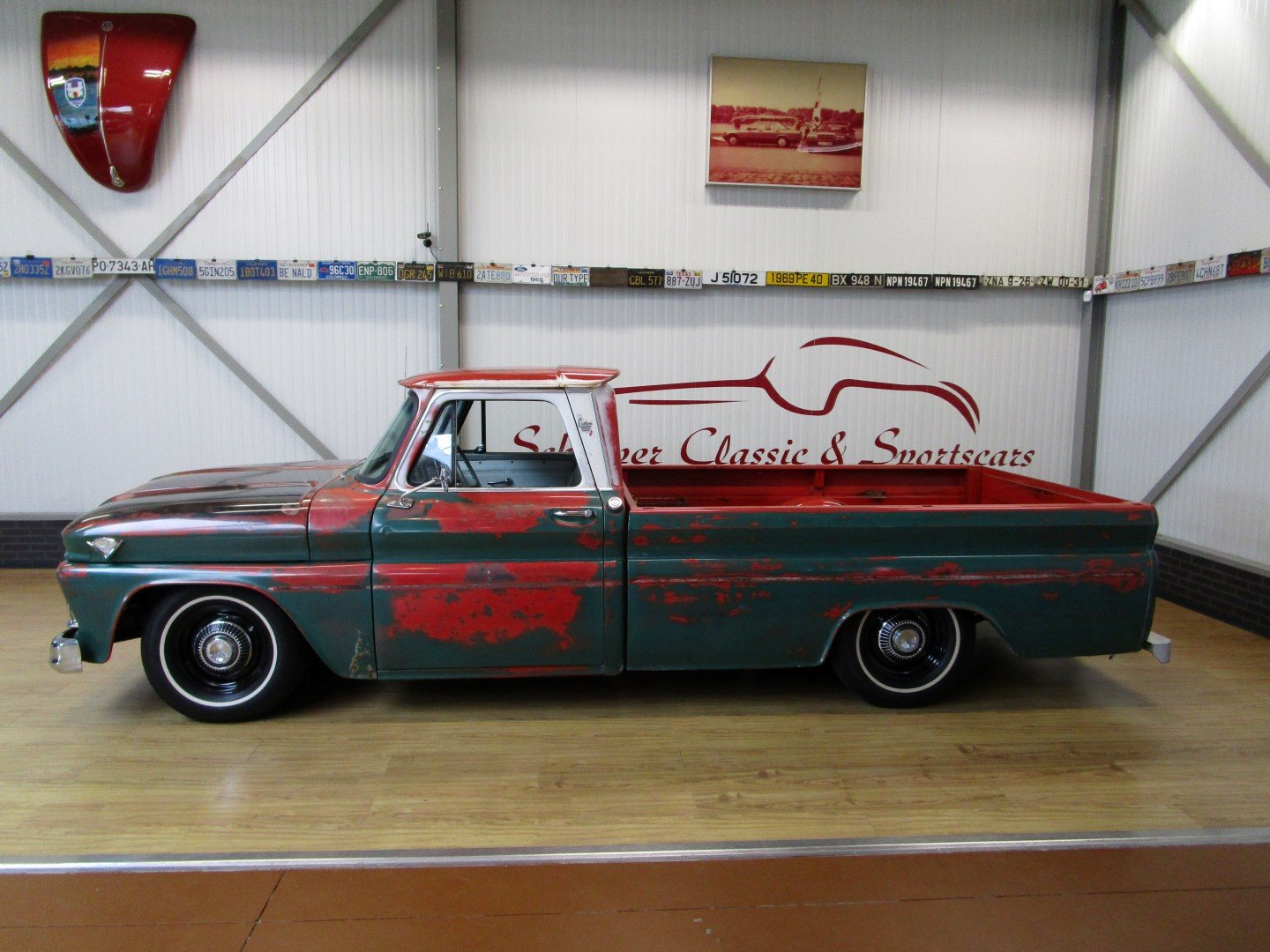 1966 GMC V8 Custom C10 Pick Up Restomod / Ratlook For Sale (picture 2 of 6)