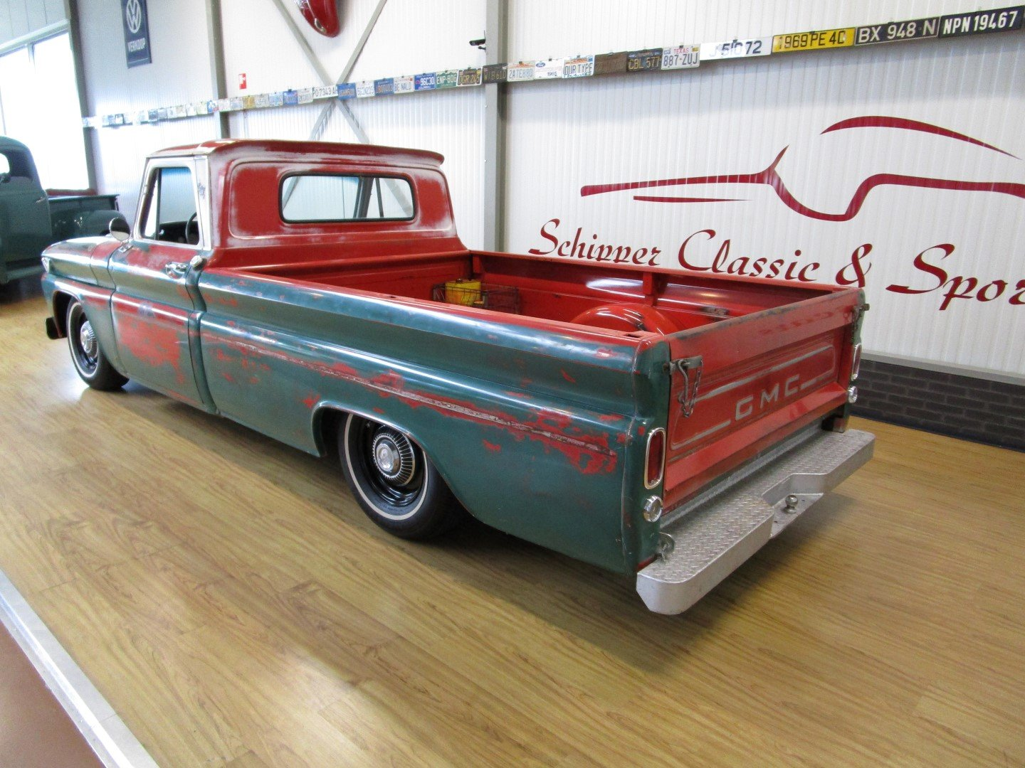 1966 GMC V8 Custom C10 Pick Up Restomod / Ratlook For Sale (picture 3 of 6)
