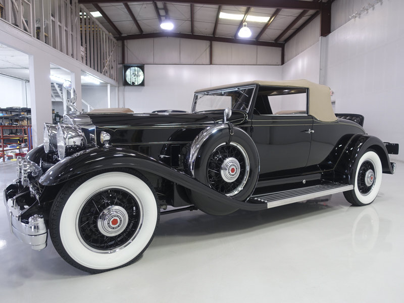 1932 Packard Special Eight Roadster Coupe For Sale (picture 1 of 6)