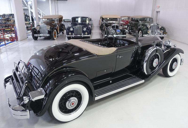 1932 Packard Special Eight Roadster Coupe For Sale (picture 2 of 6)