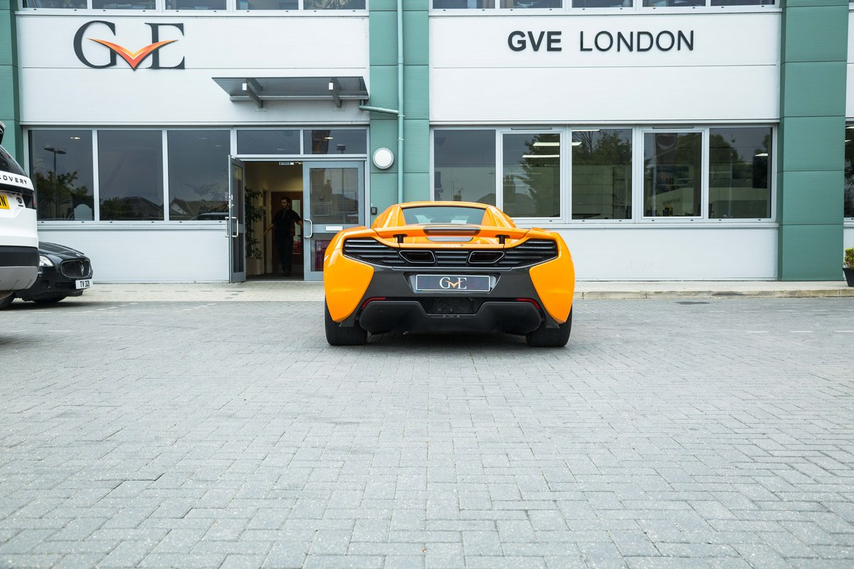 MCLAREN 650S SPIDER 2015 For Sale (picture 2 of 6)