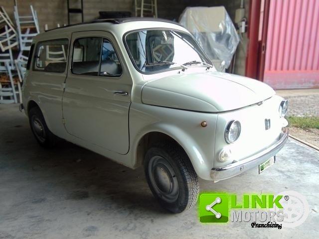 1974 Autobianchi 500 GIARDINIERA, COMPLETAMENTE RESTAURATA, ISCR For Sale (picture 2 of 6)