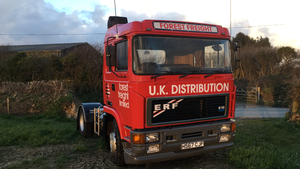 1990 ERF 4x2 Tractor Unit For Sale
