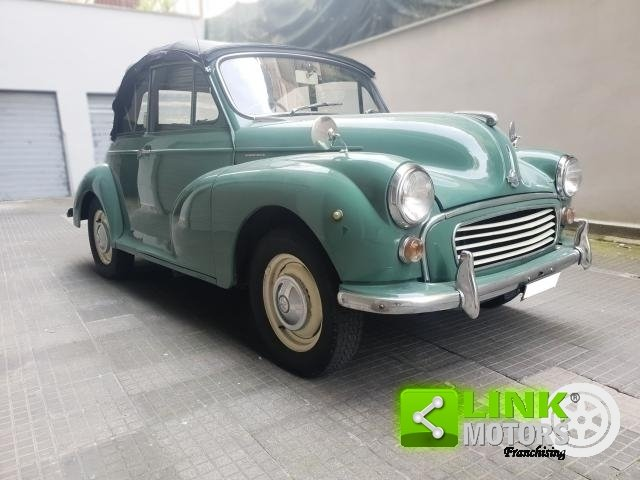Innocenti MORRIS MINOR 1000 CONVERTIBILE 1965--PERFETTAMENT For Sale (picture 2 of 6)
