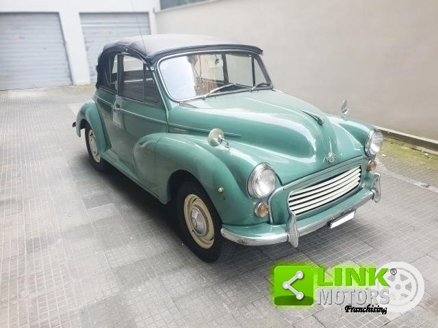 Innocenti MORRIS MINOR 1000 CONVERTIBILE 1965--PERFETTAMENT For Sale (picture 4 of 6)