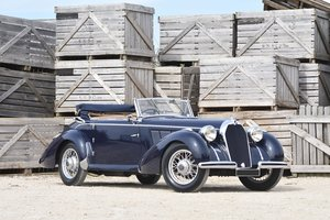 1937 Talbot-Lago T11 Cabriolet usine For Sale by Auction