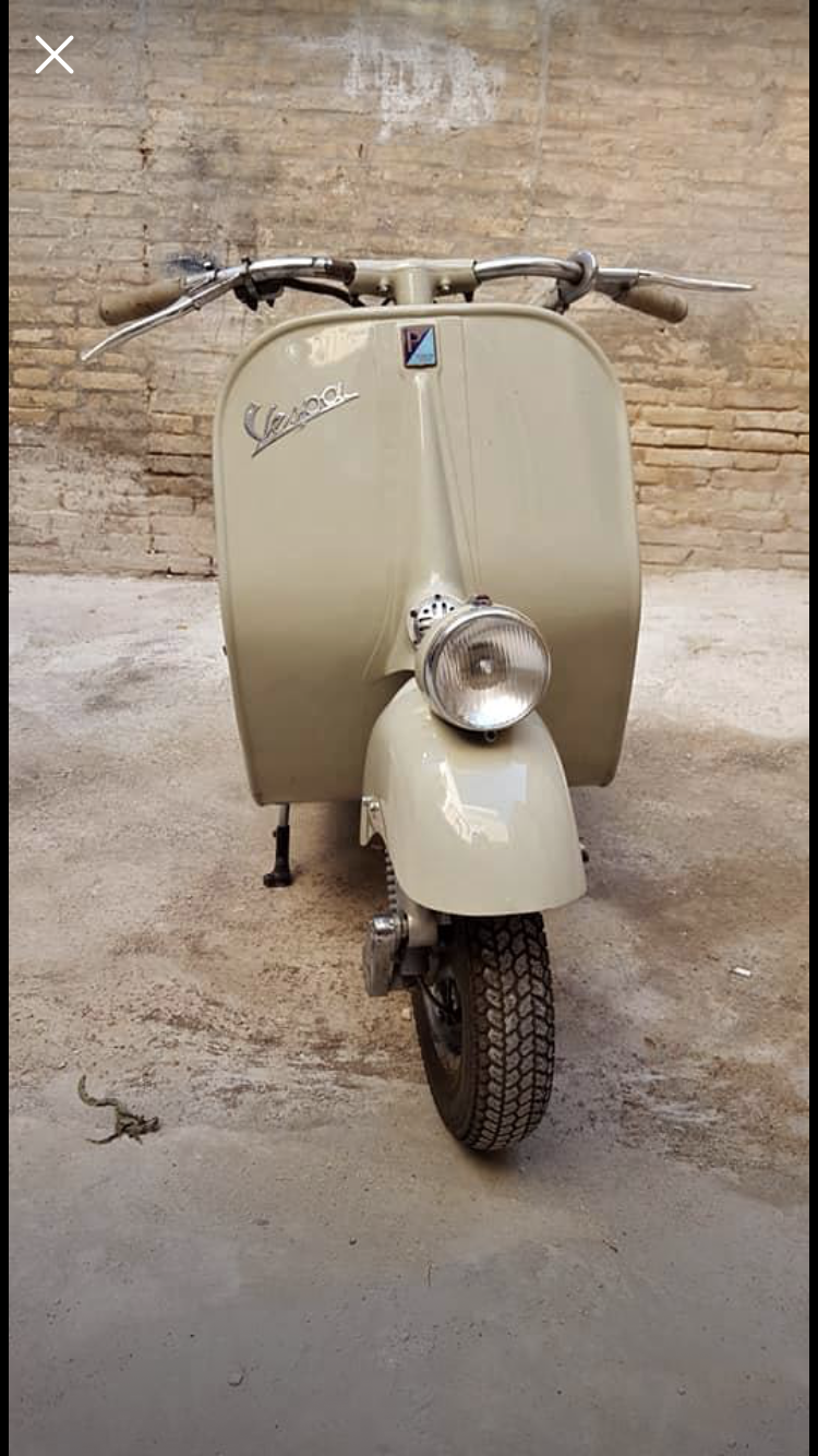 1954 Vespa faro basso Vm2t For Sale (picture 1 of 5)