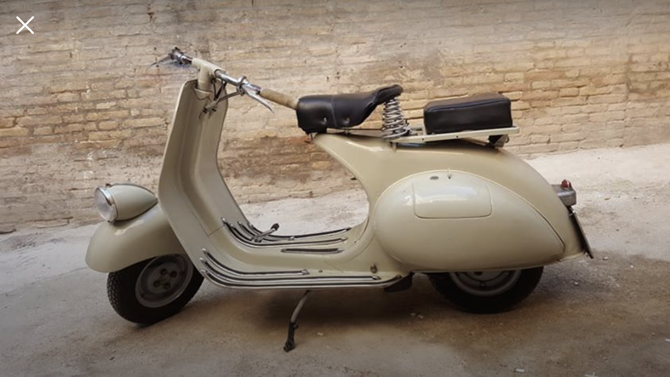 1954 Vespa faro basso Vm2t For Sale (picture 3 of 5)