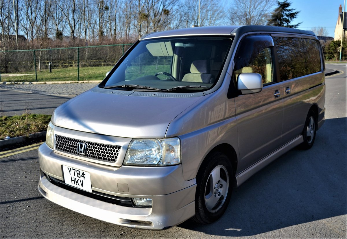 2001 Honda Stepwagon (RF3) K-Grade 2000cc Auto For Sale (picture 1 of 6)