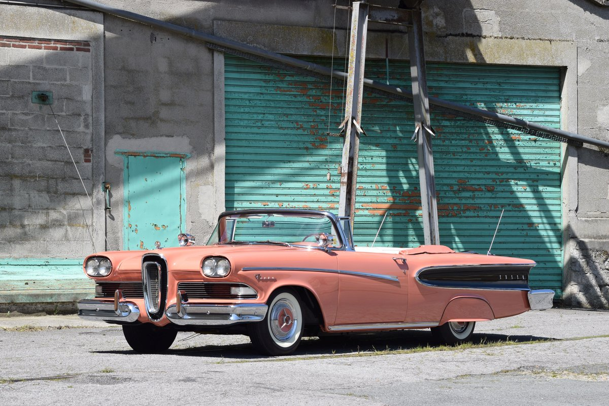 1958 Edsel Pacer cabriolet For Sale by Auction (picture 1 of 5)