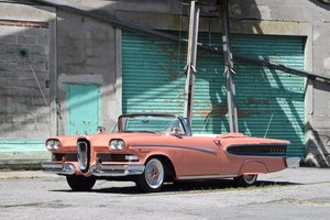 1958 Edsel Pacer cabriolet For Sale by Auction