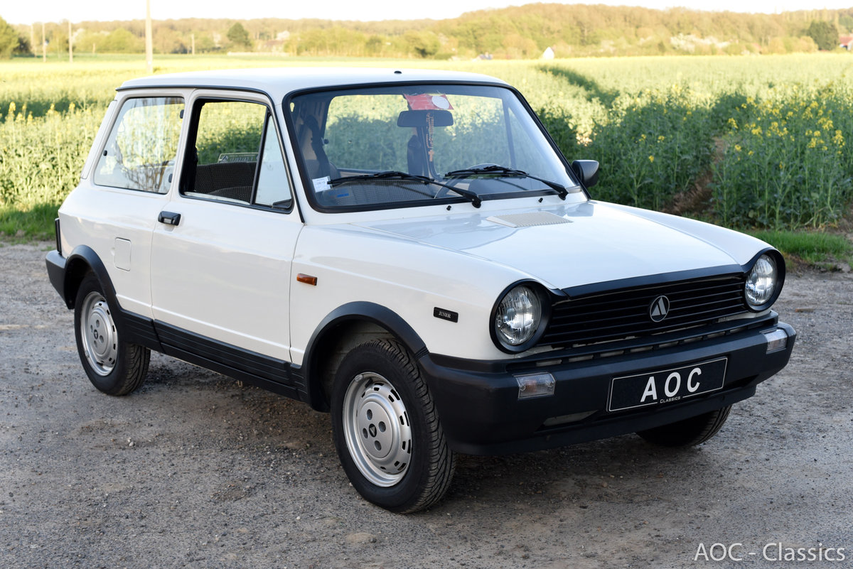 1984 A112 junior - New condition - Low Mileage- First paint For Sale (picture 1 of 6)