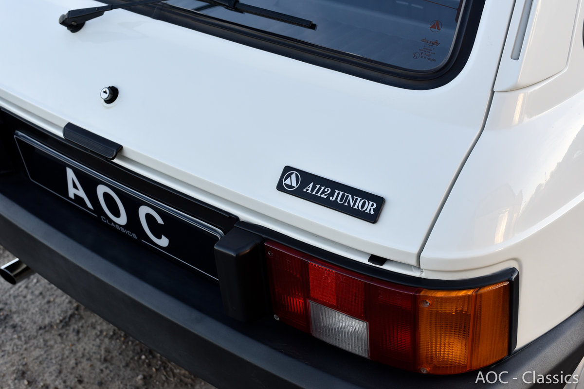 1984 A112 junior - New condition - Low Mileage- First paint For Sale (picture 2 of 6)