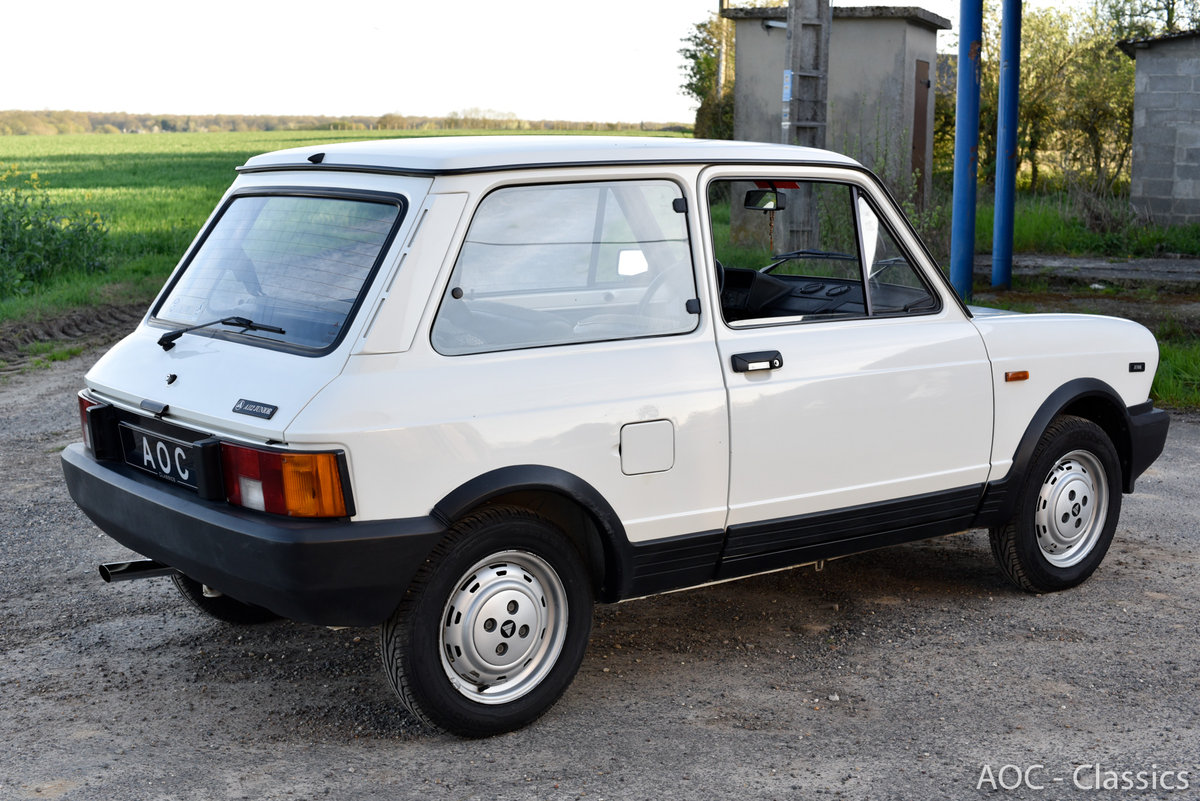 1984 A112 junior - New condition - Low Mileage- First paint For Sale (picture 4 of 6)