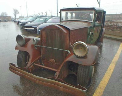 1930 Pierce-Arrow 4S Limousine project for sale. For Sale (picture 1 of 5)