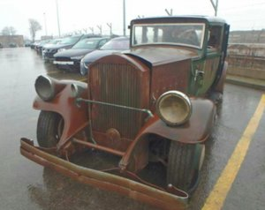 1930 Pierce-Arrow 4S Limousine project for sale.