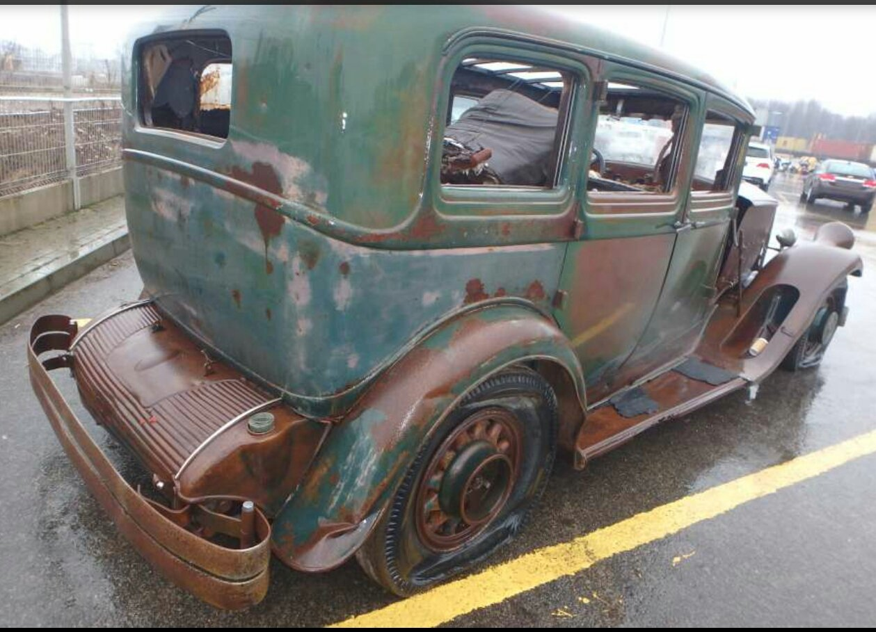 1930 Pierce-Arrow 4S Limousine project for sale. For Sale (picture 2 of 5)