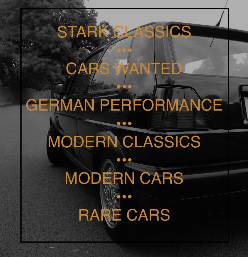 2000 CARS WANTED MODERN CLASSICS BMW SPORTS / GOLF GTI / RARE CAR For Sale (picture 1 of 5)