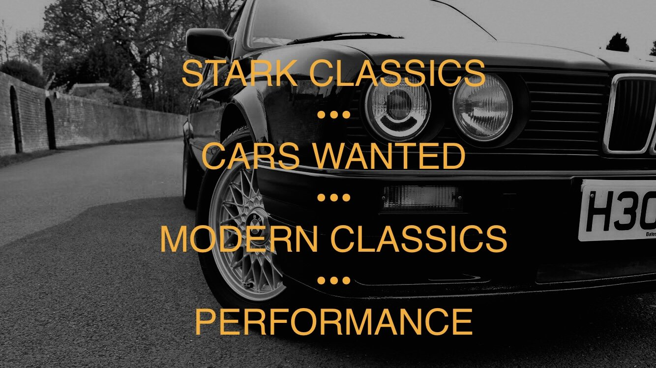 2000 CARS WANTED MODERN CLASSICS BMW SPORTS / GOLF GTI / RARE CAR For Sale (picture 3 of 5)