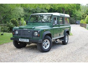 2001 Land Rover Defender 110 2.5 TD5 County 5dr EX ARMY For Sale