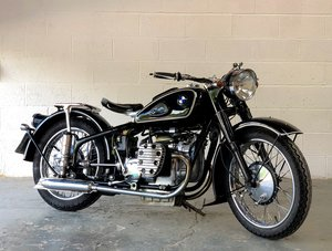 Chang jiang 1960 749 cc electric and kickstart (BMW R71) SOLD