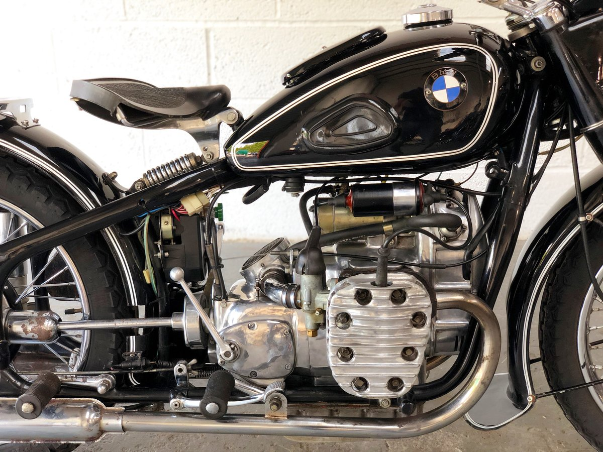 Chang jiang 1960 749 cc electric and kickstart (BMW R71) SOLD (picture 3 of 6)