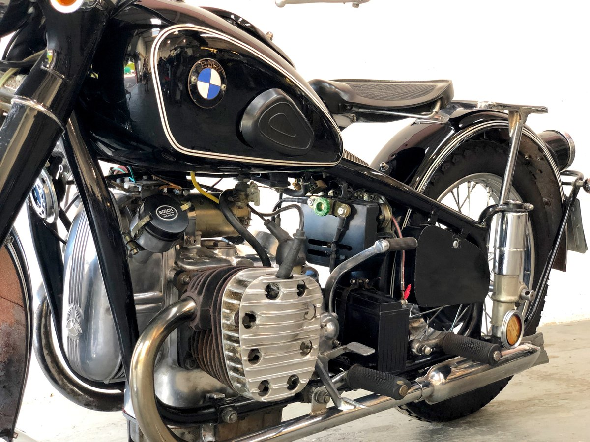 Chang jiang 1960 749 cc electric and kickstart (BMW R71) SOLD (picture 4 of 6)