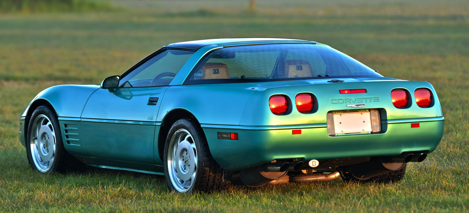 1991 Corvette C4 Targa 5.7 V8 Geiger For Sale (picture 3 of 6)